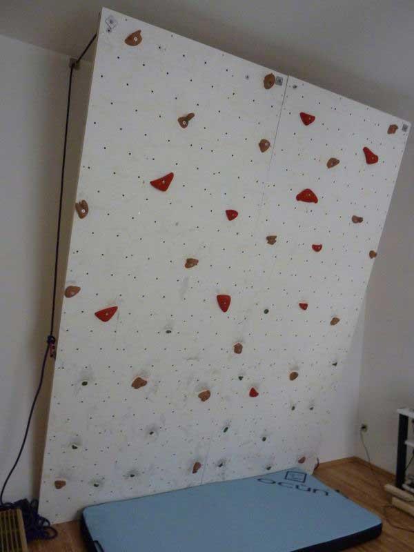 Kletterwand Für Zuhause boulderwand bauen boulderwandbau anleitung