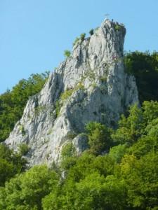 Stuhlfels im oberen Donautal