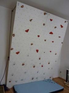 Boulderwand bauen
