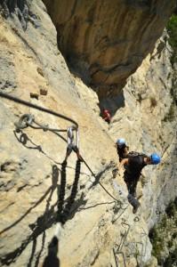 Klettersteig Via Ferrata de la Grande Fistoire