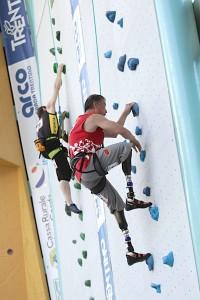 Die erste Paraclimbing Weltmeisterschaft in Arco 2011