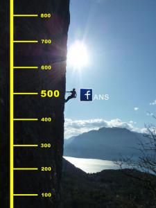 Seit 3 1/2 Jahren Kletterlaune und jetzt auch 500 Fans auf Facebook – Gewinnspiel