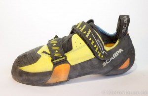 Der Scarpa Booster S High-End-Kletterschuh im Test
